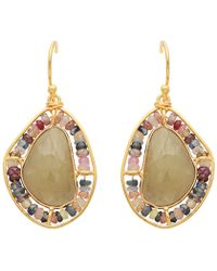 Carousel Jewels - Sapphire & Multi Gemstones Earrings - Lyst