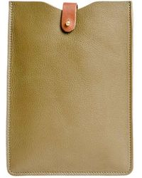 N'damus London - Ipad mini Sleeve Olive - Lyst