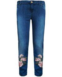 My Pair Of Jeans - Pink Flower Boyfriend - Lyst