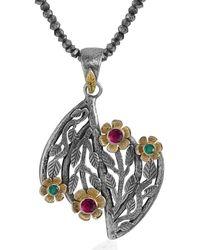 Emma Chapman Jewels - Pommona Flower Pendant - Lyst