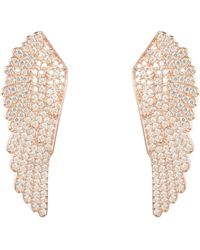 LÁTELITA London - Large Angel Wing Earring Rosegold - Lyst