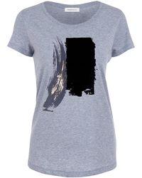 URBAN GILT - Maltby Grey T-shirt - Lyst