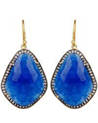 Carousel Jewels - Blue Aventurine & Crystal Drops - Lyst