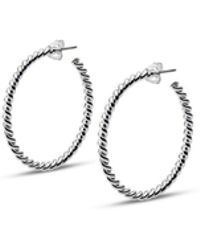 ISABEL LENNSE - S Thin Twisted Loops - Lyst
