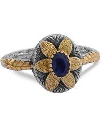 Emma Chapman Jewels   Lola Blue Sapphire Flower Ring   Lyst