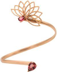 Joana Salazar | Lotus Flower Side Bracelet | Lyst