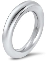 Hargreaves Stockholm - Commitment B White Gold Band - Lyst