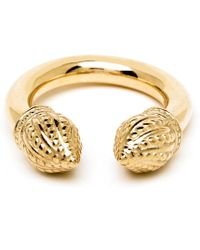 Durrah Jewelry - Gold Cylinder Ring - Lyst