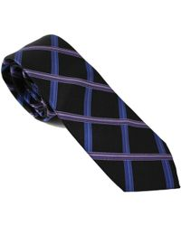 lords of harlech - Geo Plaid Tie In Plum - Lyst