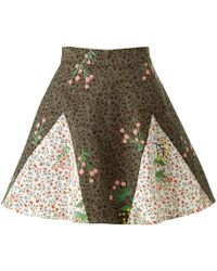 Supersweet x Moumi - Never-wake-up Berry Rhonda Skirt In Green - Lyst