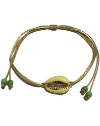 Roses Are Red - Shell Bracelet Yellow - Lyst