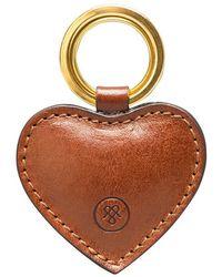 Maxwell Scott Bags - Luxury Chestnut Tan Leather Keyring Mimi - Lyst
