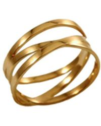 MARIE JUNE Jewelry - Bundle Gold Ring - Lyst