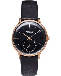 ADEXE Watches - Freerunner Petite Black & Rose Gold - Lyst