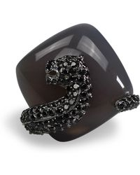 Bellus Domina - Agate Umbra Kobra Ring - Lyst
