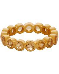 Carousel Jewels - Citrine Gemstone Band - Lyst