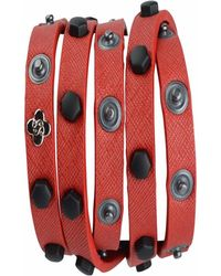 STYLESTRING - Multi Functional Accessory Matte Black On Red - Lyst