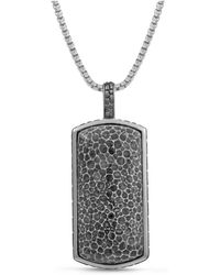 LMJ - Fossil Agate Stone Tag - Lyst