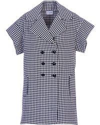 Acephala - Tailored Gingham Dress - Lyst