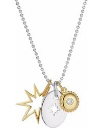 One and One Studio - Gold & Silver Star & Jewel Combo - Lyst