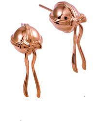 MARIE JUNE Jewelry - Presents Rose Gold Earrings - Lyst