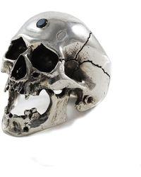Frederick Grove - Black Diamond Screaming Skull - Lyst