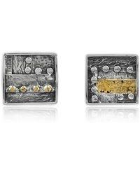 Katarina Cudic - Elements Square Earrings - Lyst