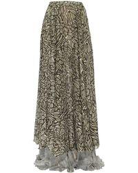 Jiri Kalfar - Double Layered Skirt With Slit - Lyst