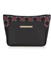 Catherine & Jean | Catherine Clutch In Inky Butterfly | Lyst