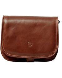 Maxwell Scott Bags - Luxury Italian Leather Women's Saddlebag Purse Large Chocolate Brown - Lyst