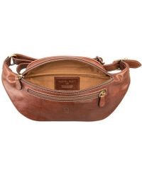 Maxwell Scott Bags - Luxury Leather Chestnut Tan Bum Bag Centolla - Lyst