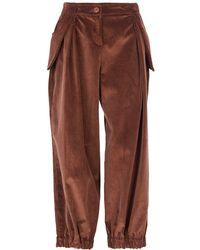 Acephala - Baggy Brown Corduroy Trousers - Lyst