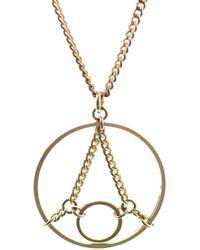 Mademoiselle Felee - Paris Eiffel Necklace Gold - Lyst