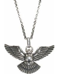 Serge Denimes - Dove Silver Necklace - Lyst