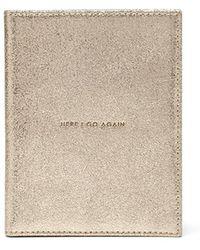 Thacker NYC - Globetrotter Passport Case Vintage Gold - Lyst