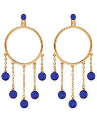 Eshvi - Lapis Earrings - Lyst