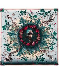 Klements - Square Scarf In Pandas Palace Print - Lyst