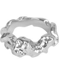 Matthew Calvin - Meteor Ring Silver - Lyst
