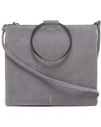 Thacker NYC - Le Pouch In Ash Suede - Lyst