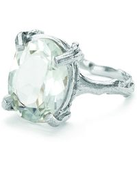 Chupi - Beauty In The Wild Ring In Prasiolite And Silver - Lyst