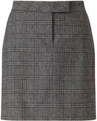 Baukjen - Mallory Skirt In Grey Mix Check - Lyst