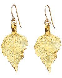 Chupi - Tiny The Sweetest Thing Raspberry Leaf Earrings - Lyst