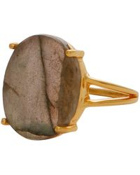 Carousel Jewels - Elegant Labradorite Cocktail Ring - Lyst
