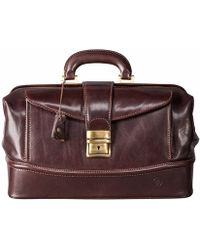 Maxwell Scott Bags | The Donnini S Small Luxury Leather Medical Bag Chocolate Brown | Lyst