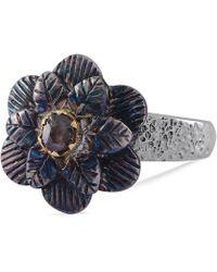 Emma Chapman Jewels - Talini Diamond Flower Ring - Lyst