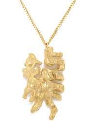 Loveness Lee - Chinese Zodiac Dragon Horoscope Gold Pendant Necklace - Lyst
