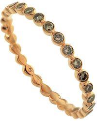Joana Salazar - Calendar Cognac Diamond Eternity Ring - Lyst