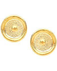 Ottoman Hands - Sun Stud Earrings - Lyst