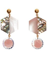 Nocturne - Shun Earrings Clip - Lyst
