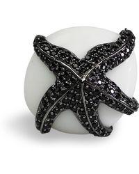 Bellus Domina - Adjustable Starfish Cocktail Ring - Lyst